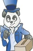 panda election picture